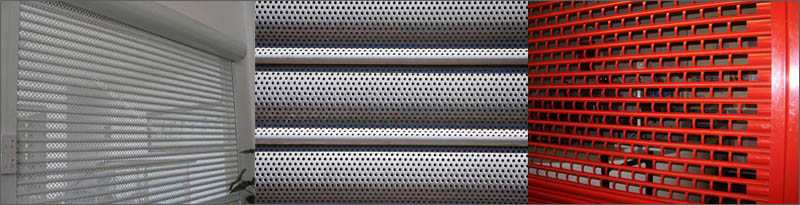 PERFORATED ROLLER SHUTTERS