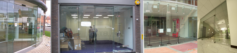 Frameless Shopfronts in West London